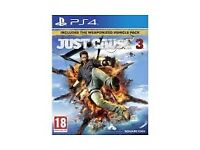 Just cause 3 for PS 4