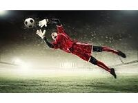 PLAY FOOTBALL (LOOKING FOR GOALKEEPER)