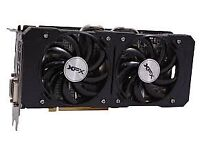 Gaming graphics card video card XFX AMD R9 370 4GB