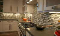 backsplash installer and tiling