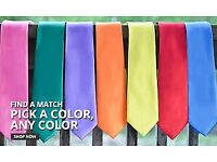 TIES! Surplus stock Wholesale Variety of colours as shown in picture. Only 4 packages left!!