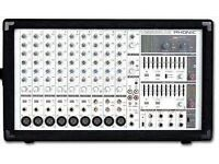 Phonic Powerpod Power mixer 750watts 9 channels.