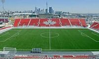 TORONTO FC ALL HOME GAMES AT BMO FIELD