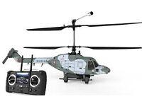 RTF Hubsan H201D FPV Westland Lynx 4CH Coaxial RC Helicopter