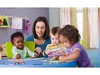 Childcare worker (assistant childminder) needed