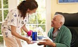 Carer for very elderly gentleman - 10.5 hours per week