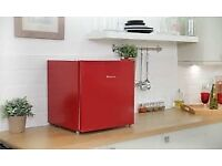 Russell Hobs Table Top Fridge RED in colour