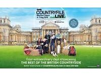 Countryfile Live show Tickets RRP upto £80 at Blenheim Palace 4th to 7th Aug