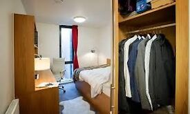 Double bed spacious room for rent in Grenville street student accomadation