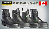 all size 5 to 12 CONSTRUCTION BOOTS Steel  Aluminum Toe STCP CSA