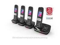 BT 8500 Advanced Call Blocker DECT Telephone - Quad