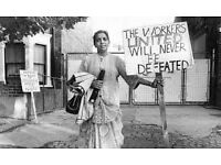 Exhibition commemorating the 40th anniversary of the Grunwick Strike