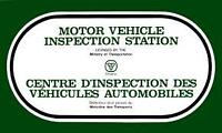 Safety Certication Inspection Station '  905 230 3131 Open 6 Day