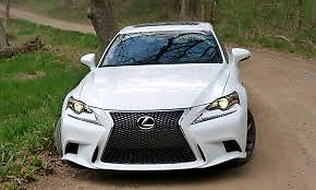 2014 Lexus is and f , premium package