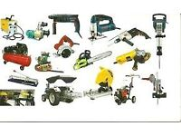 PETROL AND DIESEL GARDEN EQUIPMENT WANTED