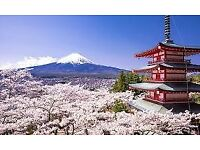 Japanese brush calligraphy classes in Edinburgh, Fife, Glasgow, Dundee etc