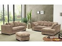 CHEAPEST PRICE LUXURY SOFA + Free FootStool 3+2 SEATER or C0RNER SUIT 9