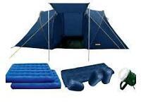 4 man 2 room halfwords starter tent