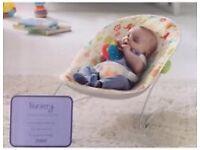 New Jungle Nursery Baby Bouncer