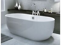 New roll top bath half price (x display )