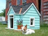 Wanted-Carpenter to build hand made Dog House
