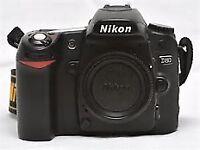 NIKON D80 camera 18500 actuations