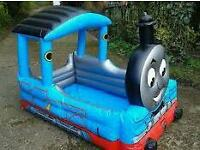 Thomas the tank pool and ball pit with roof and extras