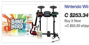Nintendo Wii Super Bundle Kit Game Set