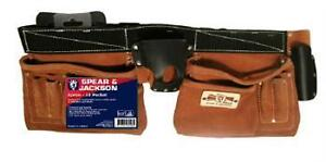 APRON BUILDERS TOOL BELT SPEAR AND JACKSON 10 POCKET