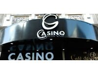 Casino Dealers (minimum 6 months experience) - excellent opportunity at Grosvenor Piccadilly