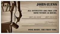 Jobs4Less contracting : dump runs/ scrap metal pickup