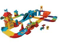 Vtech toot toot train station with sounds and lights