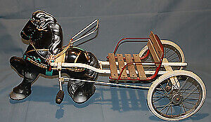 Antique Horse and Buggy Pedal Cart