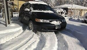 2002 Honda Odyssey Minivan, Van Alloy rims, winter tires