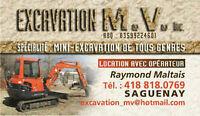 EXCAVATION M.V.