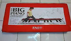 FAO SCHWARZ Premium Piano Dance Mat - 69x31-Inch Fun Musical NEW