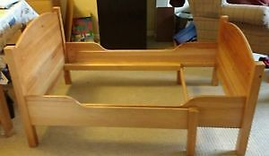 IKEA Extendable kids wood bed