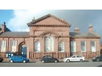OFFICE SPACE & ROOMS TO HIRE AT TOXTETH TOWN HALL IDEAL FOR CHARITIES, START-UPS, WEEKLY CLASSES ETC
