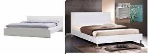 2 sets solid white wooden queen bed frame Campsie Canterbury Area Preview