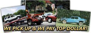 SALVAGE & SCRAP CARS, VANS, UTES, TRUCKS, BOATS, BIKES Ashfield Ashfield Area Preview