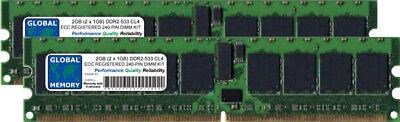 (2GB (2 x 1GB) DDR2 533MHz PC2-4200 240-PIN ECC REGISTERED RDIMM SERVER RAM KIT)
