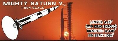 Fliskits Mx Flying Model Rocket Kit Mighty Saturn V Mx024