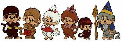 Monchhichi's Munchkins and More