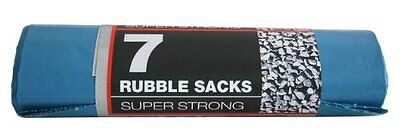 Pack of 7 rubble Bags| Strong Garden Bags| Sand Brick Holder Rubble Sacks
