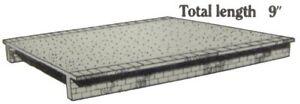 Kestrel Designs 'Wide Platforms (2)' 'N' Gauge Plastic Model Railway Kit