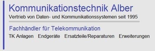 Kommunikationstechnik-Alber