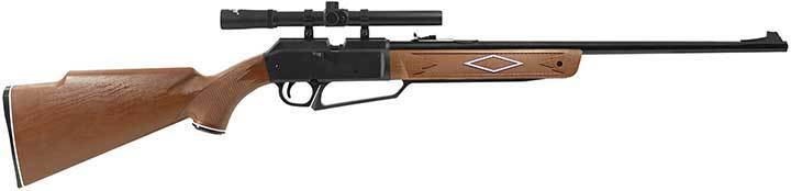 Daisy Outdoor Products 880 Rifle with Scope (Dark Brown/Black, 37.6 Inch) 992880-603