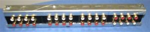 Custom RCA Connector Patch Field