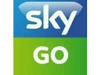 Sky go packages available
