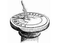 Wanted sundial with plinth also large stone planters